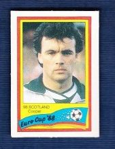Scotland Davie Cooper Glasgow Rangers